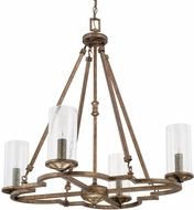 Capital Lighting 417641RT-376 Avanti Rustic Chandelier Lighting