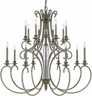 Capital Lighting 417701FG Everleigh French Greige Lighting Chandelier