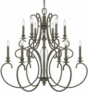 Capital Lighting 417702FG Everleigh French Greige Chandelier Lamp