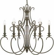 Capital Lighting 417761FG Everleigh French Greige Chandelier Light