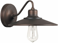 Capital Lighting 4191BB Urban Vintage Burnished Bronze Wall Lamp