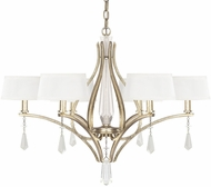 Capital Lighting 4226WG-549-CR Margo Winter Gold Chandelier Lighting