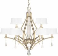 Capital Lighting 4229WG-549-CR Margo Winter Gold Lighting Chandelier