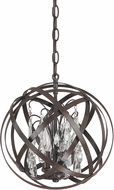 Capital Lighting 4233RS-CR Axis Russet Pendant Light