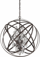Capital Lighting 4234RS-CR Axis Russet Hanging Light