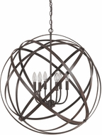 Capital Lighting 4236RS Axis Contemporary Russet Hanging Pendant Lighting