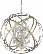 Capital Lighting 4236WG-CR Axis Winter Gold Hanging Light Fixture
