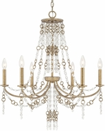 Capital Lighting 4247SA Ava Traditional Sable Chandelier Light