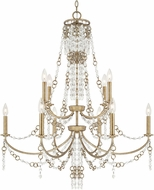 Capital Lighting 4249SA Ava Traditional Sable Chandelier Lighting