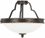 Capital Lighting 4253SY Wyatt Surrey Semi-Flush Overhead Lighting Fixture