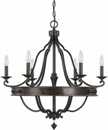 Capital Lighting 4255SY-000 Wyatt Surrey Chandelier Light
