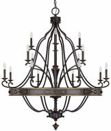 Capital Lighting 4256SY-000 Wyatt Surrey Ceiling Chandelier
