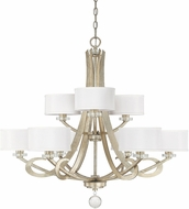 Capital Lighting 4269WG-552 Hutton Winter Gold Lighting Chandelier