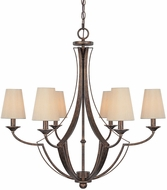 Capital Lighting 4336RT-523 Soho Rustic Chandelier Lighting