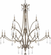 Capital Lighting 4396MY-000-CR Montclaire Traditional Mystic Lighting Chandelier