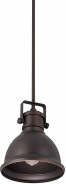 Capital Lighting 4431BB Nautical Burnished Bronze Mini Pendant Light