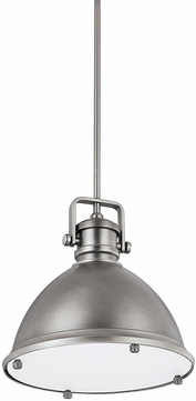 Capital Lighting 4432AN Nautical Antique Nickel Pendant Lamp