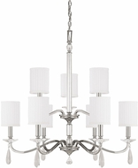 Capital Lighting 4489PN-573-CR Alisa Polished Nickel Chandelier Lamp