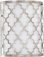 Capital Lighting 4546AS-566 Ellis Antique Silver Wall Lamp
