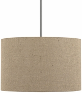 Capital Lighting 4548DB-581 Dark Bronze Drum Pendant Lighting Fixture