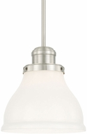 Capital Lighting 4552BN-364 Baxter Brushed Nickel Mini Pendant Lamp