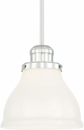 Capital Lighting 4552PN-364 Baxter Polished Nickel Mini Hanging Light