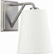 Capital Lighting 4581AN-591 East Village Contemporary Antique Nickel Lighting Sconce