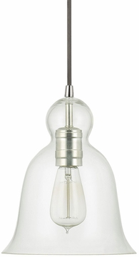 Capital Lighting 4642PN-137 Polished Nickel Mini Hanging Pendant Lighting