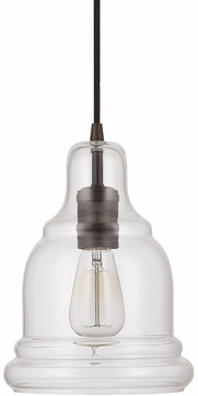Capital Lighting 4643BB-138 Burnished Bronze Mini Hanging Pendant Light