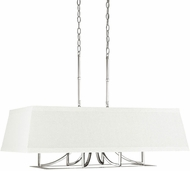 Capital Lighting 4656PN-603 Parker Contemporary Polished Nickel Island Light Fixture