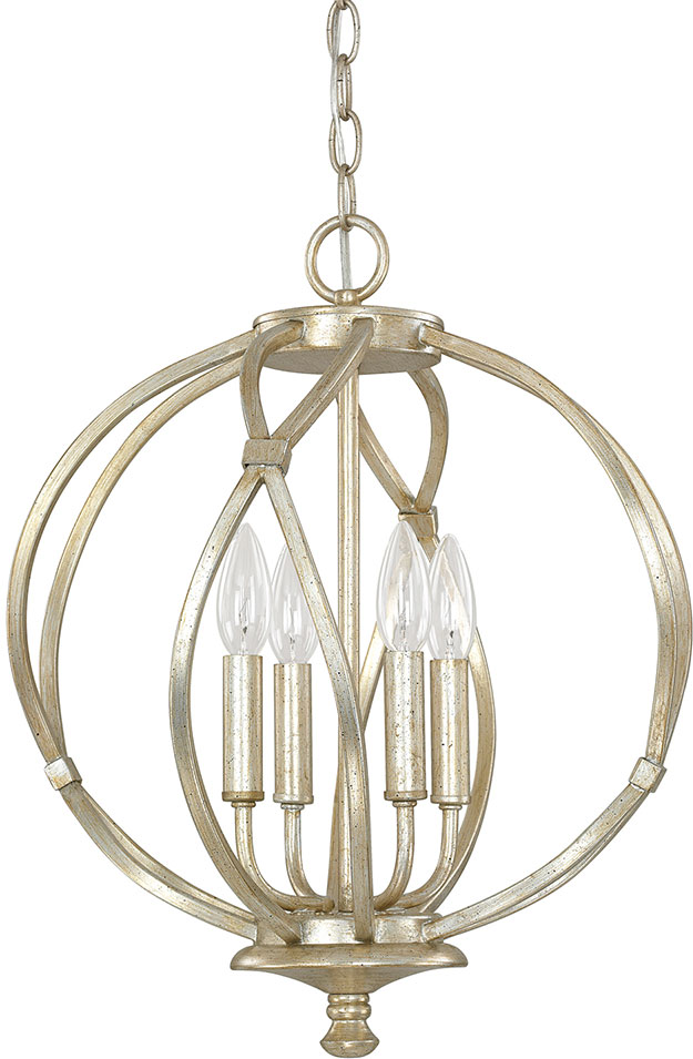 Capital Lighting 4723WG Bailey Winter Gold Pendant Lamp. Loading Zoom