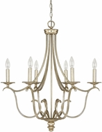 Capital Lighting 4726WG-000 Bailey Winter Gold Hanging Chandelier