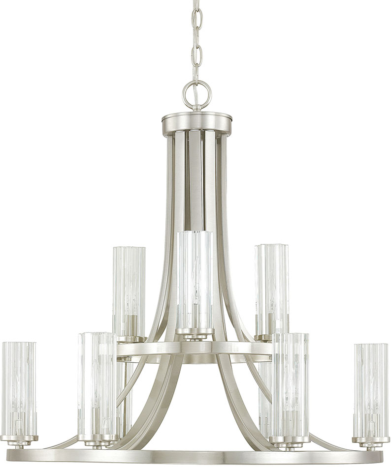 Capital lighting 4739bn 150 emery contemporary brushed nickel capital lighting 4739bn 150 emery contemporary brushed nickel chandelier light loading zoom aloadofball Image collections