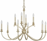 Capital Lighting 4747WG-000 Alexander Winter Gold Chandelier Lamp