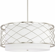 Capital Lighting 4835BN-616 Sawyer Contemporary Brushed Nickel Pendant Light