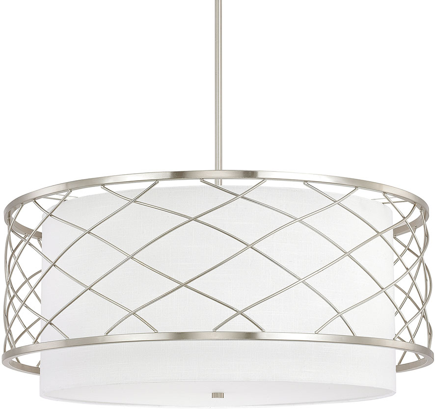 Capital Lighting Sawyer Contemporary Brushed Nickel