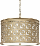 Capital Lighting 4874BG-631 Jasper Brushed Gold Drum Drop Ceiling Light Fixture