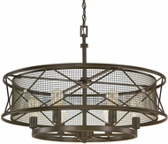 Capital Lighting 4896OR Jackson Contemporary Oil Rubbed Bronze Hanging Light
