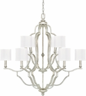 Capital Lighting 4940AS-632 Blair Modern Antique Silver Chandelier Light