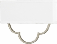 Capital Lighting 4942AS-636 Blair Modern Antique Silver Wall Light Sconce