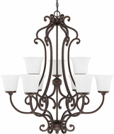 Capital Lighting 4949BB-242 Terrace Burnished Bronze Chandelier Light