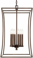 Capital Lighting 510161BB Westbrook Contemporary Burnished Bronze Entryway Light Fixture