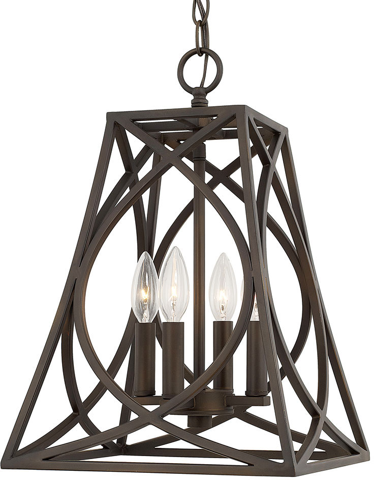 Capital lighting 510241ob foyers contemporary old bronze for Modern hallway light fixtures