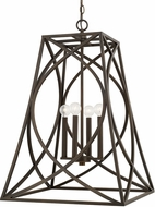 Capital Lighting 510242OB Foyers Modern Old Bronze Foyer Lighting Fixture