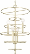 Capital Lighting 510441SF Aurora Contemporary Soft Gold Mini Ceiling Chandelier