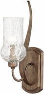 Capital Lighting 611611RT-322 Rowan Rustic Wall Light Sconce