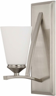 Capital Lighting 612311BN-324 Boden Modern Brushed Nickel Wall Sconce