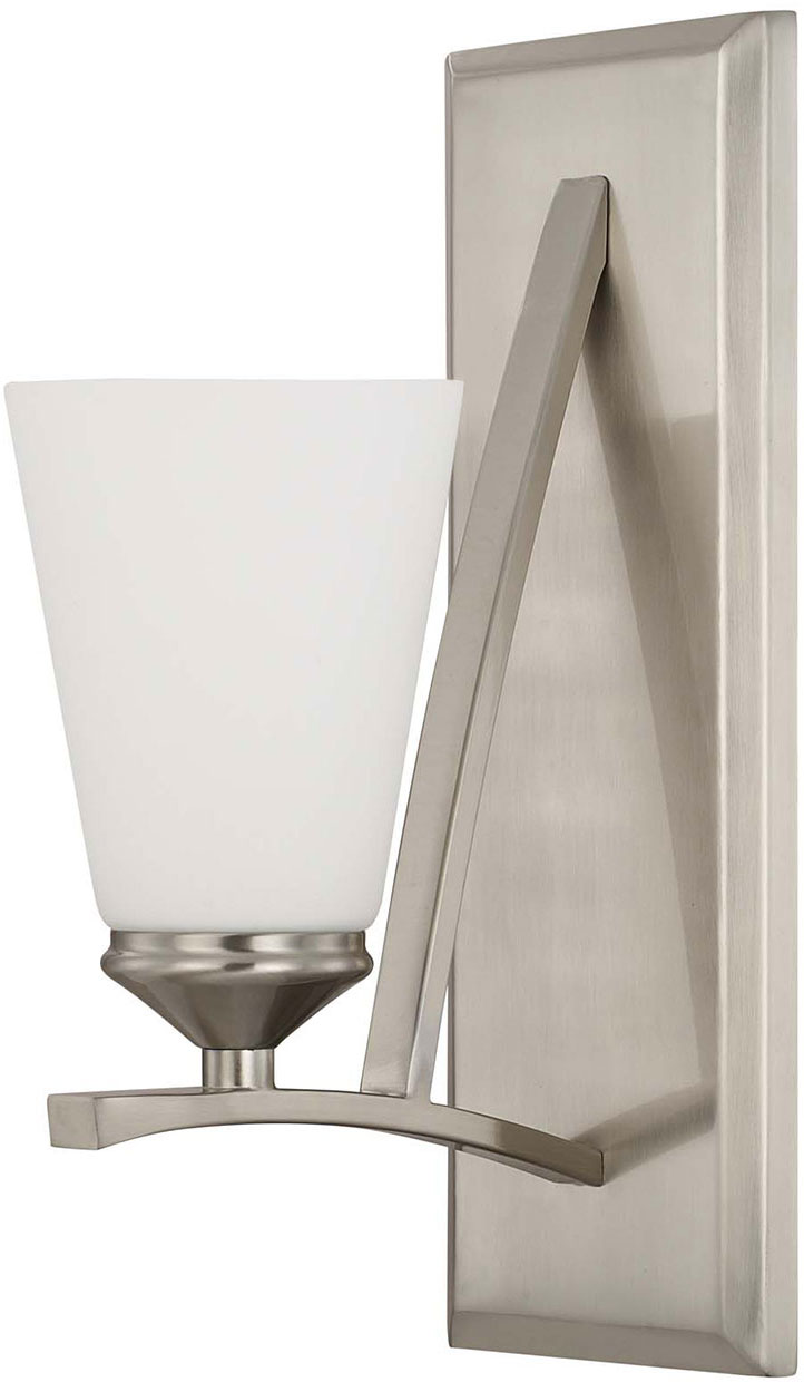 Capital Lighting 612311BN-324 Boden Modern Brushed Nickel Wall Sconce - CPT-612311BN-324
