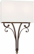 Capital Lighting 618721DS-668 Kingsley Dark Spice Wall Mounted Lamp