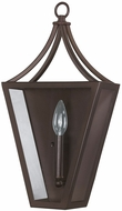 Capital Lighting 7011BB Contemporary Burnished Bronze Lighting Sconce